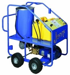 Steam Jenny Elhw 1421 110 Volt Oil Fired Hot Pressure Washer