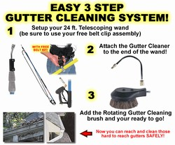 Gutter Cleaning System