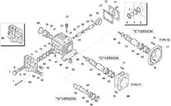 XTV3G16E-F8 AR Pump